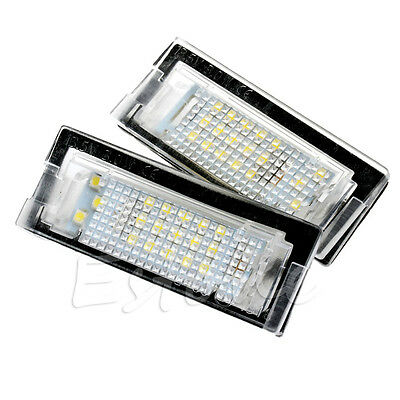 2xError Free LED Number Plate License Light For BMW E39 5D Wagon Touring 00-003