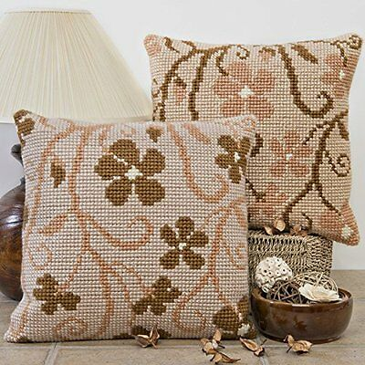 Twilleys Scatter 2896//0038 Cross Stitch Cushion Front Kit Flowers