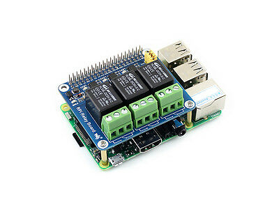 Raspberry Pi Relay Board Power Relay Expansion Module for A+/B+/2B/3B Automation
