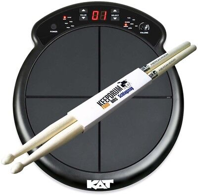 KAT Percussion KTMP1 Percussion Multipad E-Drum + KEEPDRUM Sticks
