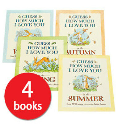 Guess How Much I Love You Seasons Collection - 4 Books