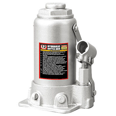 Wolf Low Profile Hydraulic 12 Ton Bottle Jack 230mm to 465mm
