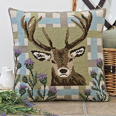 Twilleys - Tapestry Cushion Front Kit - Highland Stag - 2894/0024