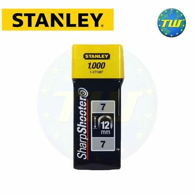 Stanley Staple 12mm 1000pc Type 7 Sharpshooter Maestri Maxicraft Outifrance Sam