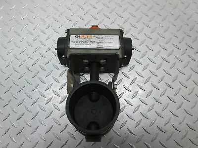 """Gh Bettis Rpb250-Sr4 Actuator And Victaulic V-010-3522 3"""" Butterfly Valve"""