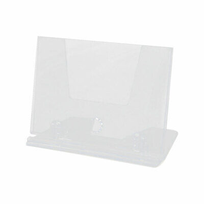 Office Business Plastic Collection Name Card Holder Display Stand Case Clear