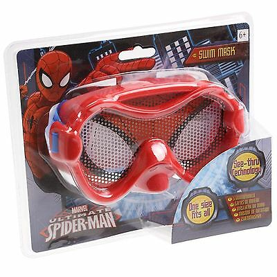 New Marvel Avengers Kids Swimming Mask Goggles Ultimate Spiderman 6+