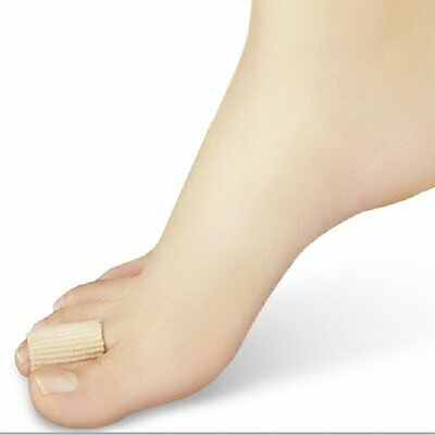 1 x Cuttable Toe/Finger Cover Sleeve Cap Discomfort Relief 10CM S BF