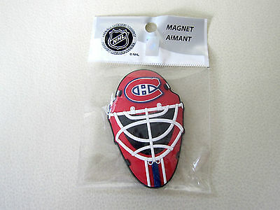Montreal Canadiens Official NHL Hockey Goalie Mask Magnet! Helmet Face MTL