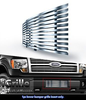 304 Stainless Steel Billet Grille Fits 2009-2014 Ford F-150 Bumper