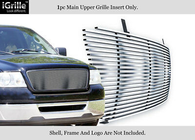 304 Stainless Steel Billet Grille Fits 2004-2008 Ford F-150