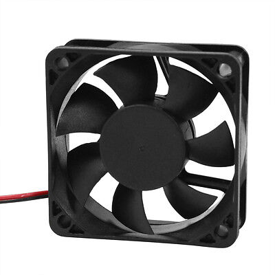 DC 12V 2Pins Cooling Fan 60mm x 15mm for PC Computer Case CPU Cooler DT
