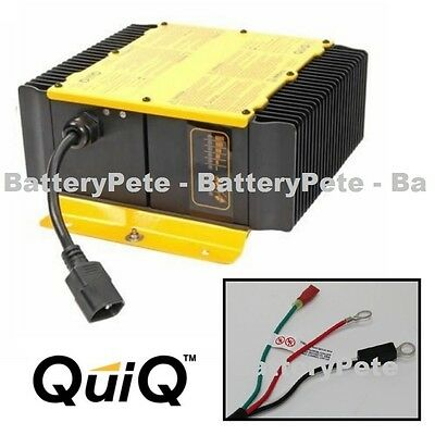 Delta Q Battery Charger 48 volt-18 amp 48v Golf Cart Pallet Jack New