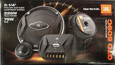 "JBL GTO509C Harman 5.25"" inch Component Speaker System 75W RMS EMS Shipping NEW!"
