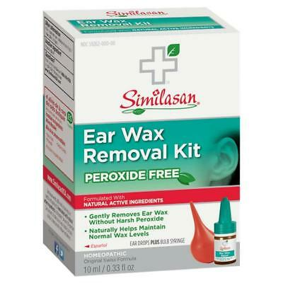 Similasan Ear Wax Removal Kit w/Bulb Syringe 094841255170A518