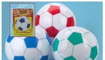 "Large Big 24"" 61cm Inflatable Blow Up Football Beach Ball Swimming Holiday Party"