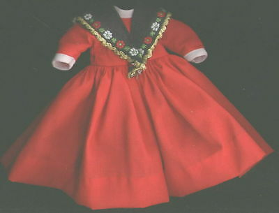 "Madame Alexander 8"" Doll Red Dress"