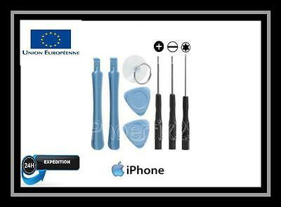 KIT OUTILS TOURNEVIS IPHONE4 4s 5 5c 5s 6 6S NOTE DEMONTAGE REPARATION- 8 PCES
