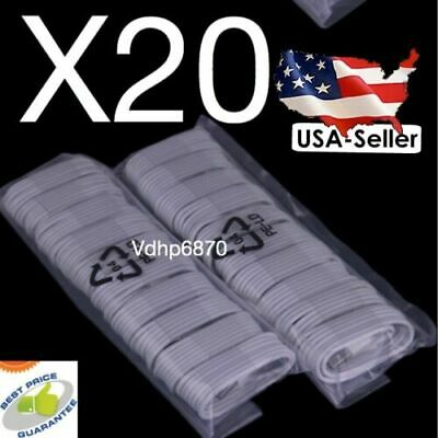 LOT 3X 6FT LONG  8 Pin USB Charger Cord Sync Cable for iPhone 7 5 5S 5C6+6/8/x