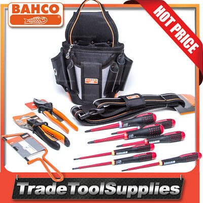 Bahco Electricians Pouch Belt with Tools 4750-ETK