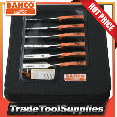 Bahco 6 Piece Chisel Set Split Proof Handles 434-S6-ZC