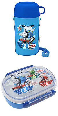 Thomas Combination Set of Bento (Lunch) Box and Thomas Thermos with Cup