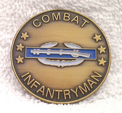 COMBAT INFANTRYMAN Military Veteran CHALLENGE COIN 22331 HO