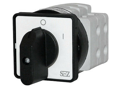 Cam switches 40A 0-1 Rotary turn-switch Reversing 4P S40 JD 1104 A6