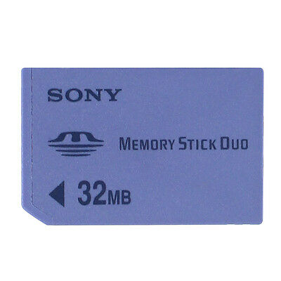 SONY 32MB MS DUO PSP Memory Card Standard Speed Memory Stick Duo