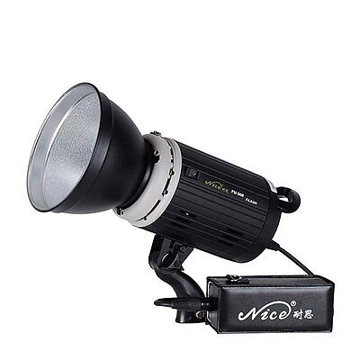 Nicefoto FU-300 300Ws Portable Outdoor Strobe Flash Light with Battery & Trigger