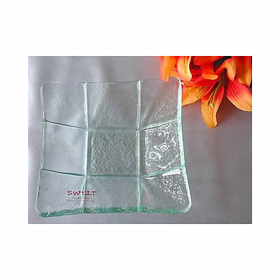 Handmade Square Glass Plates