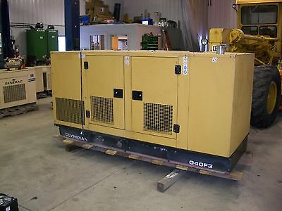 Olympian 40KW Generator  Other Heavy Construction
