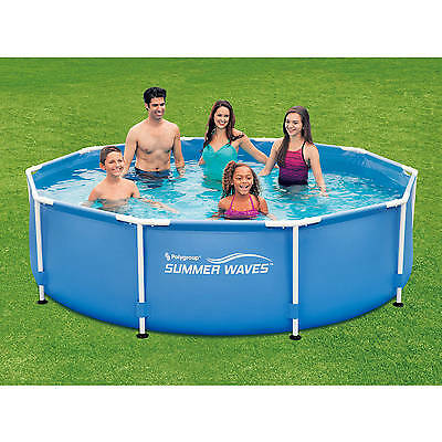 metal frame swimming pool 10 x 30 above ground pools family backyard