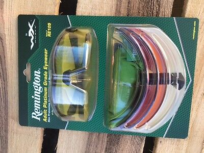Wiley X Remington Range or Shooting Glasses with 5 lenses RE105