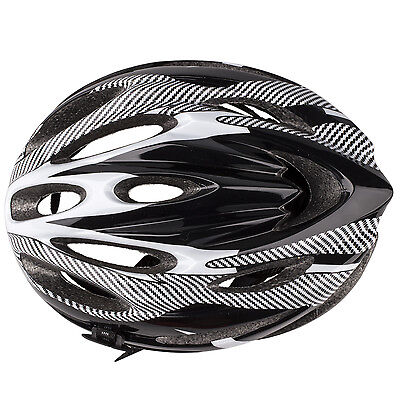 Ultralight Sports Cycling Helmet with Lining Pad Mountain Bicycle Adult White BF