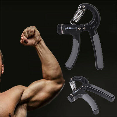 Adjustable Hand Power Grip Hand Exerciser Gripper 10-40 Kg For Wrist Forearm
