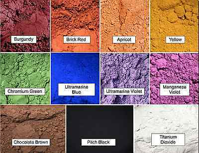 Oxide Pigment Color Powder ~ Perfect for Soap Making ~ Cosmetics ~ Nail Polish