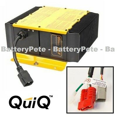 JLG Battery Charger 24 volt 25 amp by Delta Q 24v Scissor Lift 1001112111-400238