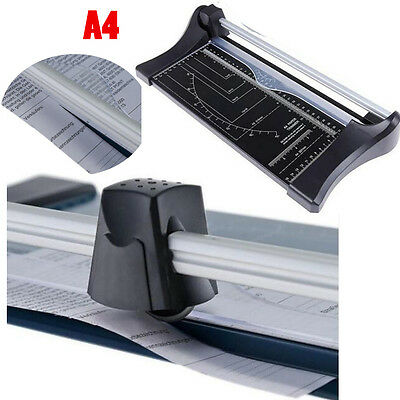 Hot A4 Precision Paper Card Trimmer Guillotine Photo Cutter Arts Crafts Office