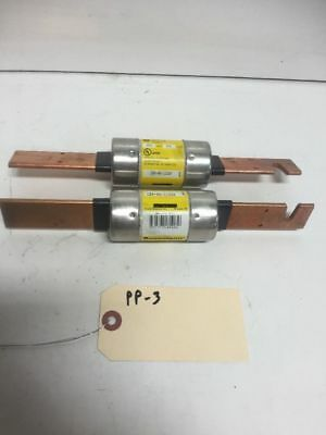 New Lot Of 2 Cooper Bussmann Low Peak Class RK1 Fuse LPS-RK-110SP Fast Shipping