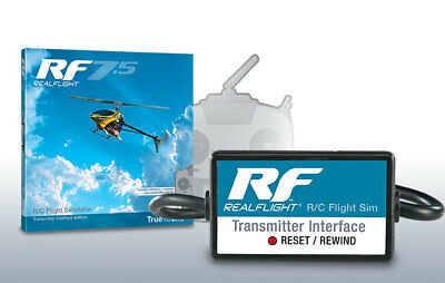 Great Planes Real Flight 7.5 Simulator & Wired Transmitter Cable GPMZ4535