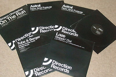 """6 x 12""""  Direction Records        TRANCE / ELCTRO"""