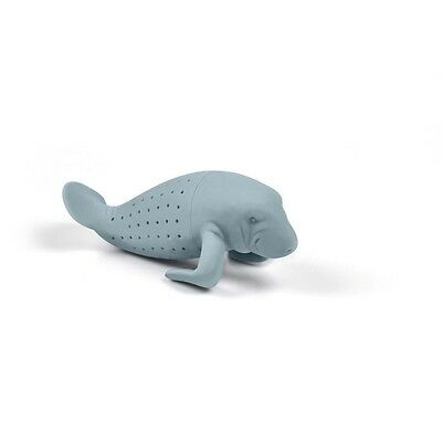 Tea Infuser Manatee Manatea Strainer Filter Loose Leaf Brew Herbal Spice Gift UK