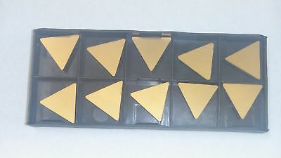New 10Pcs Tpu-434 Tin Coated  Carbide Inserts