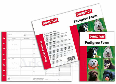 Beaphar Pedigree Forms
