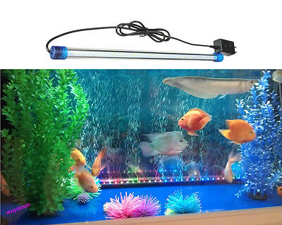 NEW Submersible LED Light Bar Lamp  2835 SMD RGB Colour for Aquarium Fish Tank
