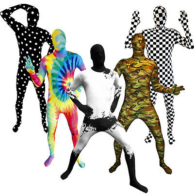 SALE Morphsuit Various Fancy Dress Costume for Party Festival Halloween Stag Do