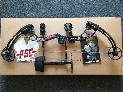 PSE Bow Madness X-JET 30 New 2015/16 55/70lb Skullworks Package 53% Off Retail