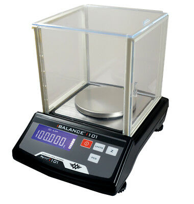 MY WEIGH iBALANCE 101 PRO DIGITAL TABLE TOP BENCH LAB SCALES - 100g x 0.005g