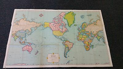 Rand McNally Imperial World Map